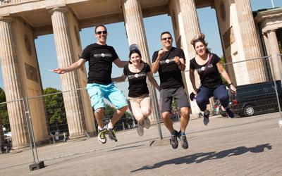 MyCityExpress est un jeu de piste permettant de visiter Berlin tout en s'amusant