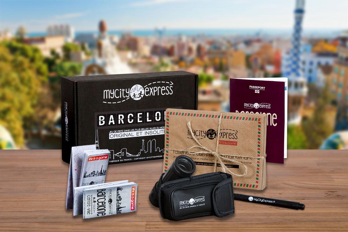 Box insolite à Barcelone, jeu de piste touristique