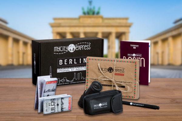 Box insolite à Berlin, jeu de piste touristique