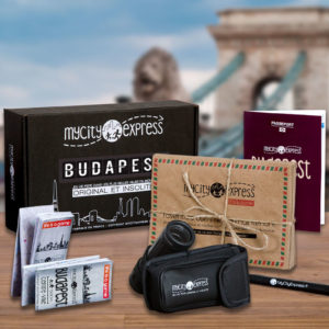 Box insolite à Budapest, jeu de piste touristique