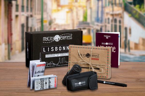 Box insolite à Lisbonne, jeu de piste touristique