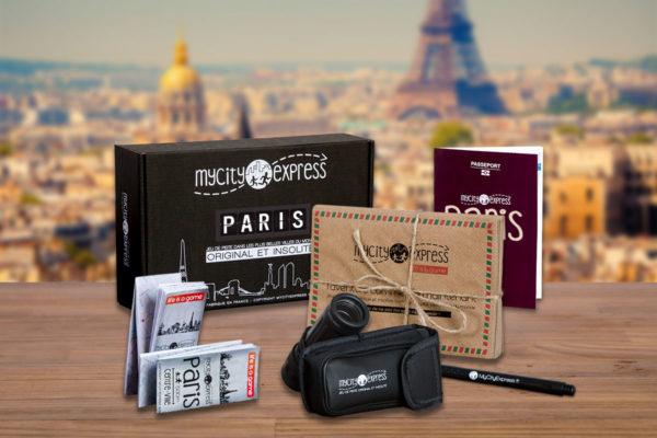 Box insolite à Paris, jeu de piste touristique