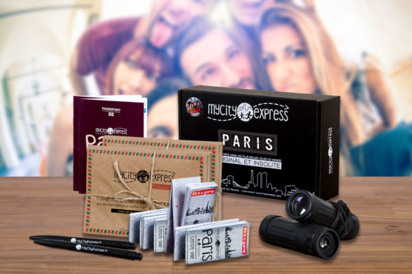 EVJF insolite à Paris, jeu de piste dans la ville pour visiter en s'amusant