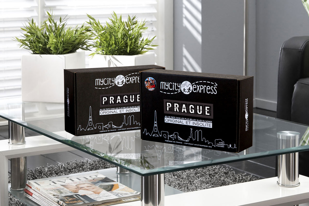 Les Box insolites pour Prague, jeu de piste touristique