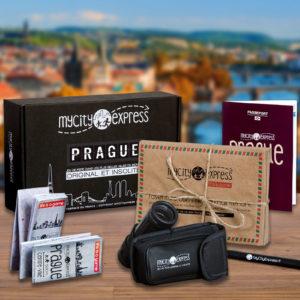Box insolite à Prague, jeu de piste touristique