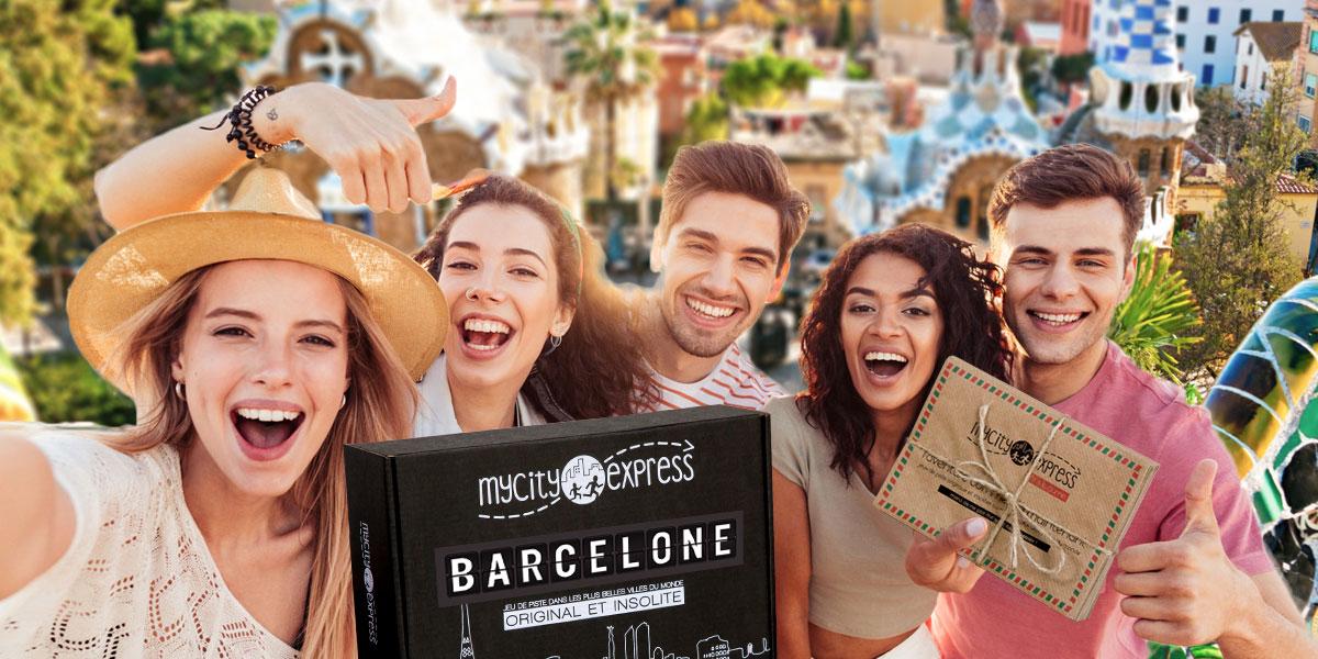 Jeu de piste pour visiter autrement Barcelone
