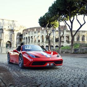Fil Rouge Ferrari à Rome
